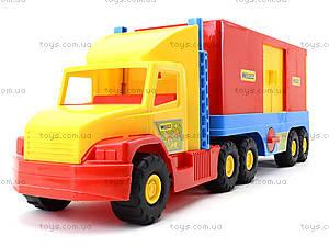Машина-фургон Super Truck, 36510, купить