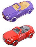 Машина кабриолет для куклы, 17-011, отзывы
