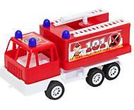 Машина «Карго Пожарная«, 5169, отзывы