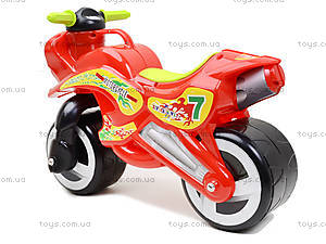 Машина-каталка «Мотоцикл», 11-006, отзывы
