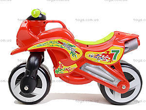 Машина-каталка «Мотоцикл», 11-006, игрушки