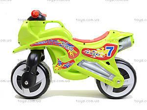 Машина-каталка «Мотоцикл», 11-006, детские игрушки