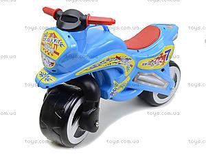 Машина-каталка «Мотоцикл», 11-006, toys.com.ua