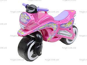 Машина-каталка «Мотоцикл», 11-006, toys