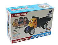 Машина - конструктор магнитный, 38012345, фото