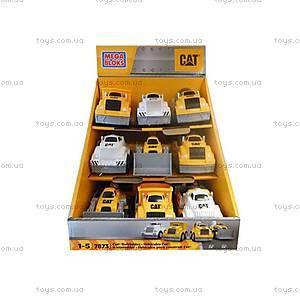 Машина-конструктор Mega Bloks CAT «Конструируй и комбинируй», CYR12, купить