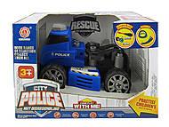 Машина конструктор Полиция, QL6005C
