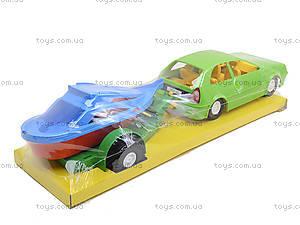 Автомобиль «Купе» с прицепом, 39002, фото