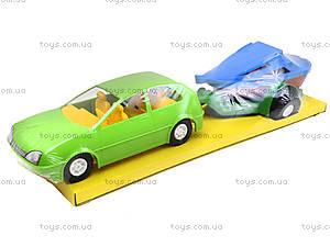 Автомобиль «Купе» с прицепом, 39002, игрушки
