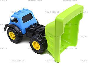 Машина «Лори» с лопаткой и граблями, 07-715-3, цена