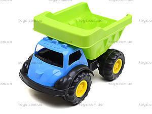 Машина «Лори» с лопаткой и граблями, 07-715-3, игрушки