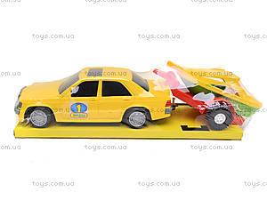 Автомобиль «Мерс» с прицепом, 39003, фото