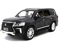 """Машина металлическая """"АВТОПРОМ"""" 1:24 Lexus LX570, 7691, фото"""