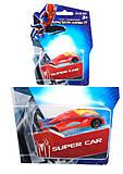 Машина инерционная Super Car металлическая, 5136-1, детские игрушки
