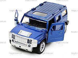 Машина металлическая «Хаммер», TF809, детские игрушки