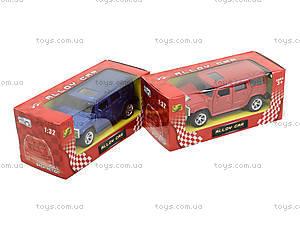 Машина металлическая «Хаммер», TF809, магазин игрушек