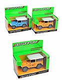 АВТОПРОМ - игрушка, 4 цвета, 7835, фото