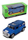 Hummer серии «Автопром», 4 цвета, 7706