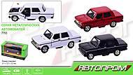 Машина АВТОПРОМ «ВАЗ 2106», 3 цвета, 7793, отзывы