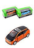 """Машинка """"BMW i3"""" из серии """"Автопром"""", 7646, отзывы"""