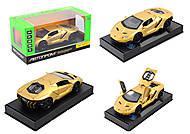 Металлическая модель машины Автопром Lamborghini, 7861, фото