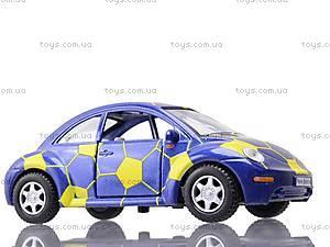Металлическая модель машины «Volkswagen New Beetle», KT5028WR, фото