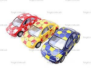 Металлическая модель машины «Volkswagen New Beetle», KT5028WR