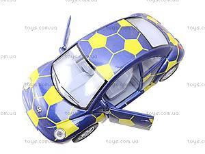 Металлическая модель машины «Volkswagen New Beetle», KT5028WR, игрушки