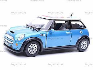 Металлическая модель машины «Mini Cooper S», KT5059WF, купить