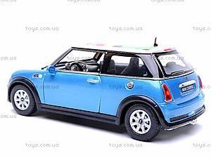 Металлическая модель машины «Mini Cooper S», KT5059WF, отзывы