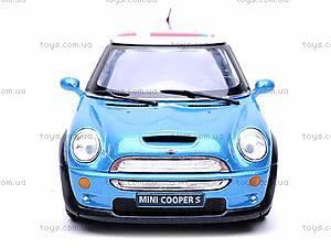 Металлическая модель машины «Mini Cooper S», KT5059WF, игрушки