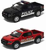 Коллекционная модель Ford F-150 SVT Police/Fire, KT5365WPR, фото