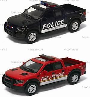 Коллекционная модель Ford F-150 SVT Police/Fire, KT5365WPR, купить