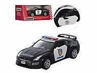 Машина KINSMART Nissan GT-R (R-35) Police, KT5340WP
