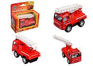 Пожарное авто серии «FIRE ENGINE», KS3507W, отзывы