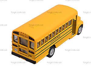 Металлическая модель машины «Школьный автобус», KS5107W, фото