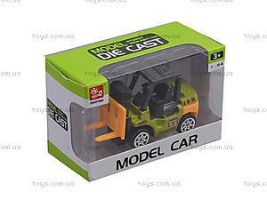 Детская Машина металлическая «Стройтехника», SQ80992-12, отзывы
