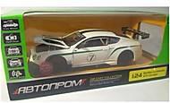 Машина металлическая Bentley Continental GT3 Concep, 68266A, отзывы