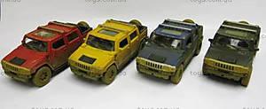 Машина металлическая «Hummer H2 SUT (Muddy)», KT5097WY
