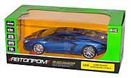 Машина металлическая Lamborghini Aventador LP700-4, 68254A, отзывы