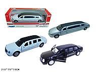 Машина металлическая Лимузин, FY80208, купить
