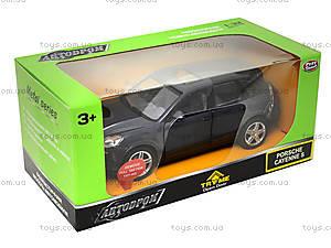 Машина Porshe Сayenne 3 с подсветкой, 6339, цена