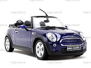 Машина Mini Cooper S Cabrio, 22461W, купить