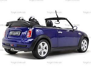 Машина Mini Cooper S Cabrio, 22461W, магазин игрушек