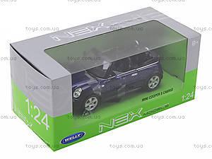 Машина Mini Cooper S Cabrio, 22461W, toys.com.ua