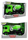 Зеленая бетономешалка Multi truck, 39485, отзывы