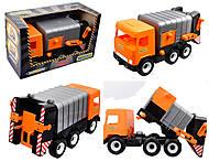 Машина - мусоровоз «Multi truck», 39312, отзывы