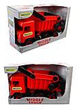 Красный самосвал Multi truck, 39486, отзывы