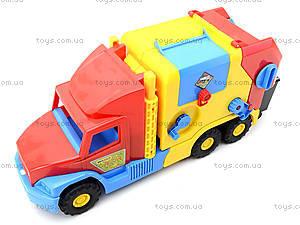 Машина-мусоровоз «Super Truck», 36580, фото