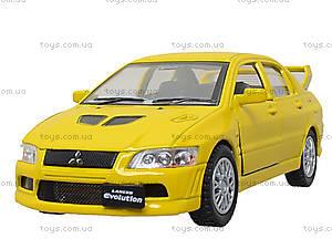 Металлическая модель машины «Mitsubishi Lancer Evolution VII», KT5052W, Украина